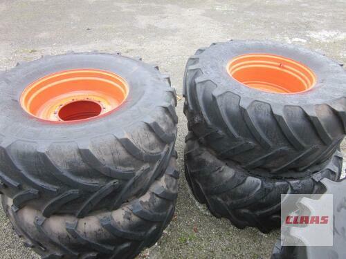 Michelin 1 Satz Kompletträder 800/70r38 Zum Claas Xerion 3800 / 3300 Molbergen