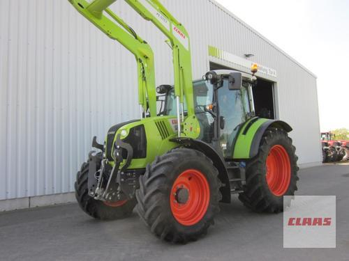 Claas ARION 460 CIS+ PANORAMIC, Frontlader FL 120, FKH + FZW