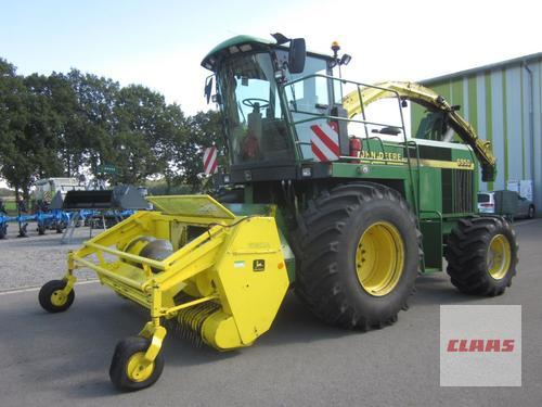 John Deere 6910 Allrad 4WD mit PICK UP 630 A, Corn Cracker