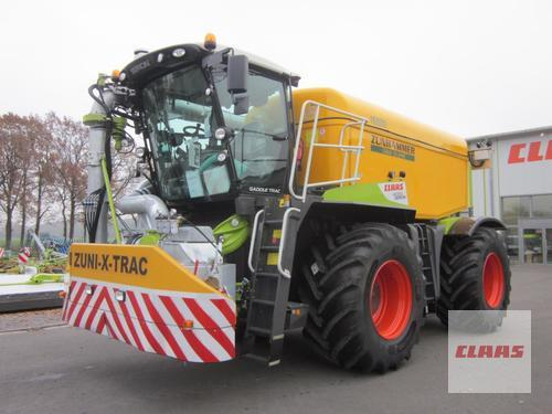Claas Xerion 4000 Saddle Trac Mit Zunhammer Zuni-X-Trac 16 Cbm, Fr Year of Build 2018 4WD