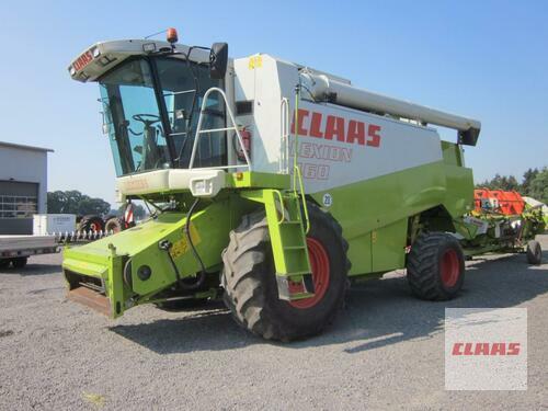 Claas LEXION 460 Allrad 4WD mit SW C 600 AC u. SW-Wagen