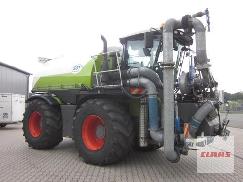 Claas Xerion 3800 Saddle Trac Mit Sgt Gülletechnik 16 Cbm, Fronta Year of Build 2012 4WD