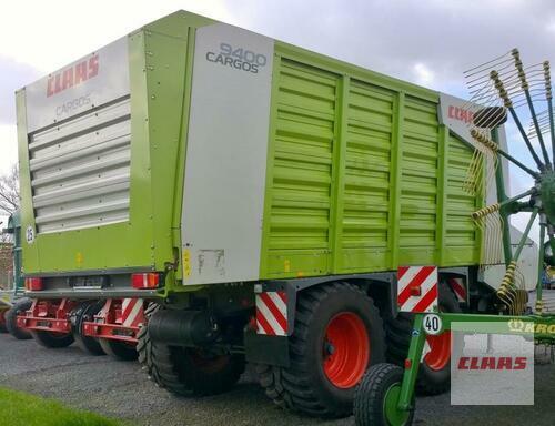 Claas Cargos 9400 anno di costruzione 2011 Westerstede
