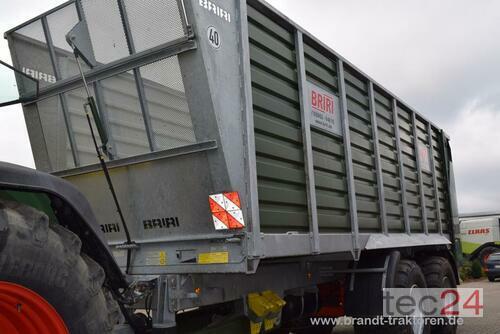 Briri Silo Trans 45 Tandem anno di costruzione 2015 Bremen