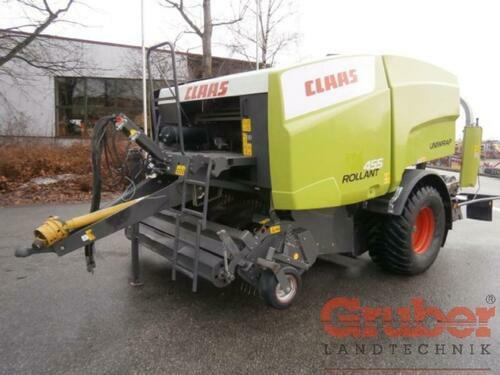 Claas Rollant 455 Uniwrap Anul fabricaţiei 2010 Ampfing