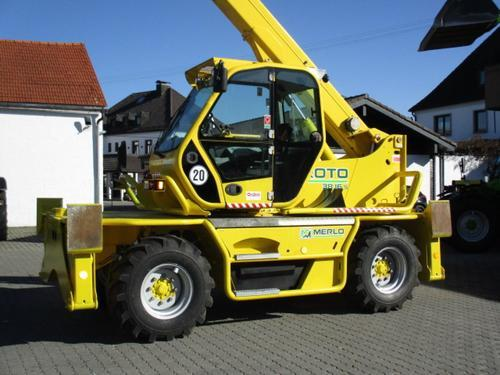 Merlo Roto 38.16 S Year of Build 2010 Ampfing