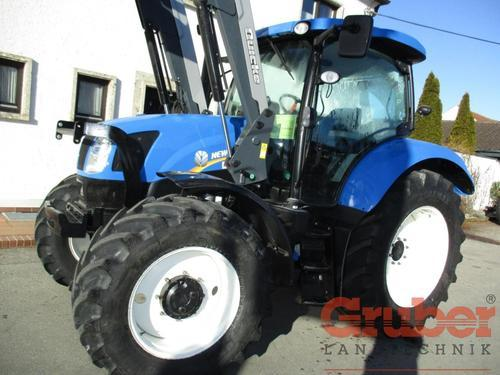 New Holland T6.160 Ec Chargeur frontal Année de construction 2015