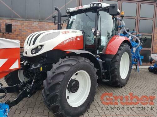 Steyr Profi 4145 Cvt 4-hjulsdrift Ampfing