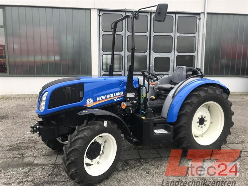 New machine Tractors: New Holland TD4 80F