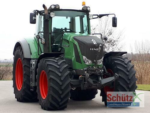 Fendt 828 Vario Profi Plus Année de construction 2010 A 4 roues motrices