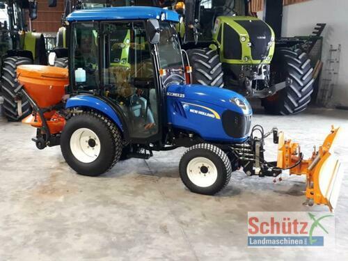 New Holland Boomer 25, Schneeschild, Salzstreuer, Winterdienst. Bj.15 Byggeår 2015 A/C