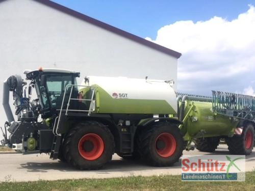 Claas Xerion 3800 Saddle Gülle Trac inkl. Bomech 18m Year of Build 2013 4WD