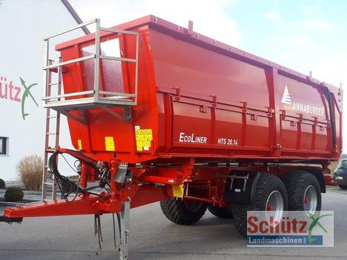 Annaburger Ecoliner HTS 20.14, Bj. 17, 2 Seiten, kein Reisch, kein Bran