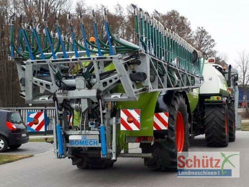 Bomech Verteiler 18m Ab, Claas Xerion Mit Sgt Aufbaufaß Und Anhän Year of Build 2013 Schierling