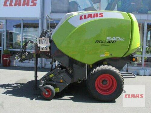 Claas Rollant 540 RC Year of Build 2018 Hof