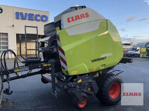 Claas Variant 480 RC Pro