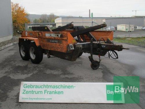 Deutz-Fahr C47fg Absetzmulden Anhänger Рік виробництва 1998 Bamberg