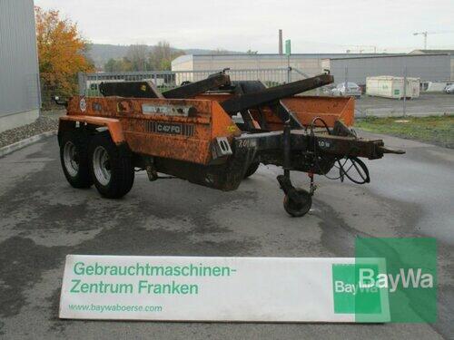 Deutz-Fahr C47fg Absetzmulden Anhänger Année de construction 1998 Bamberg