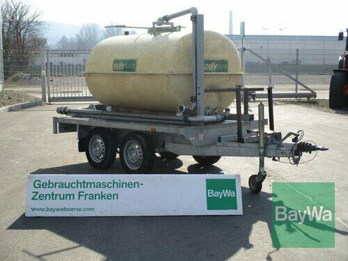 Tandem Mit Wasserfass 1750l Anul fabricaţiei 2007 Bamberg