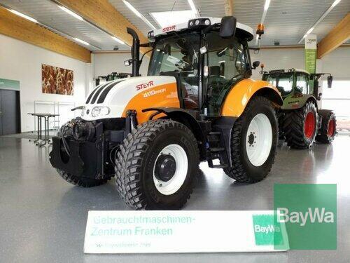 Steyr 4110 Profi Cvt anno di costruzione 2016 4 Trazione Ruote