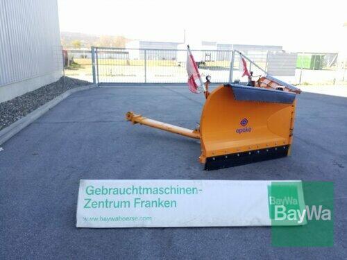 Epoke Spv 300 Schneeschild, Schneeräumschild, Year of Build 2017 Bamberg