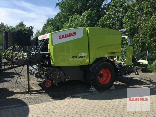 Claas Rollant 455 RC Uniwrap Baujahr 2014 Lautertal