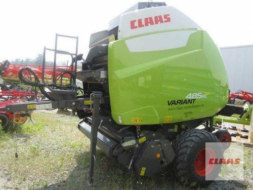 Claas Variant 485 RC Pro Année de construction 2017 Gefrees