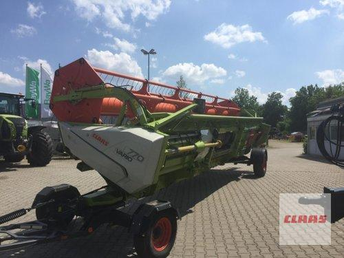 Claas Vario 770 + Transportwagen Year of Build 2015 Schwandorf