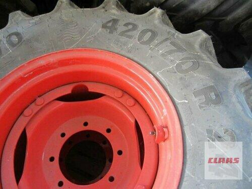 Mitas Komplettrad 2x 420/70 R24 Baujahr 2014 Schwend