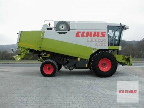 Claas LEXION 440 CAC + SW C 540