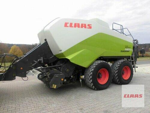Claas Quadrant 3400 RC Año de fabricación 2011 Schwend
