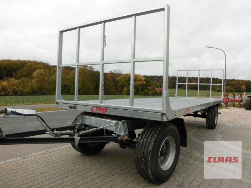 Fliegl ZPW 180 Plattformanh. Ballensammelwagen
