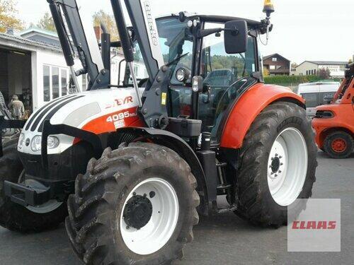 Steyr 4095 Multi Ladowarka przednia Rok produkcji 2015