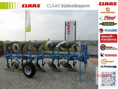 Rabe ALBATROS V 120 M 5-F Vorführmaschine Drehzylinder mit Folge
