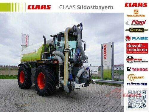 Traktor Claas - XERION 3800 SADDLE TRAC SGT Gülleaufbau, Klimaautomatik