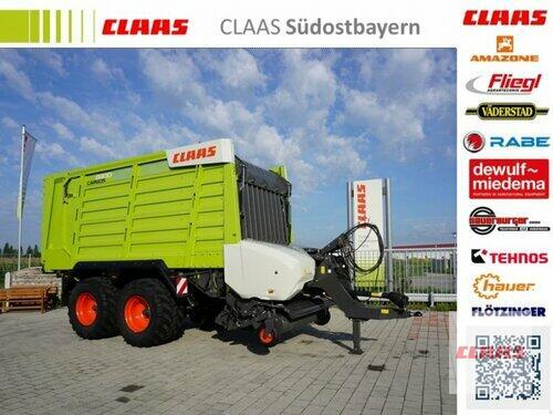 Claas Cargos 8300,  Neumaschine Tademachse, Knickdeichsel, Arbeits