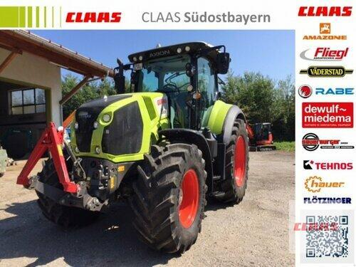Claas Axion 810 Cmatic Año de fabricación 2016 Accionamiento 4 ruedas