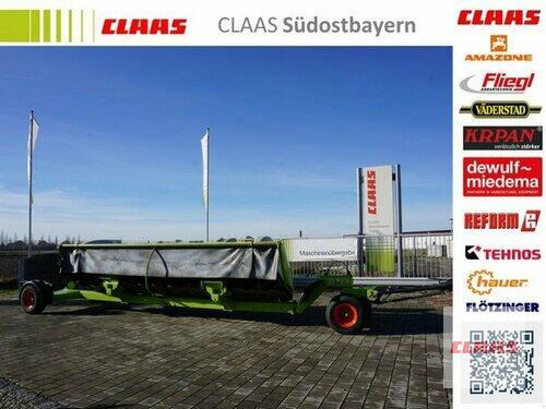 Claas Direct Disc 610 Mit Transportwagen Año de fabricación 2012 Töging am Inn