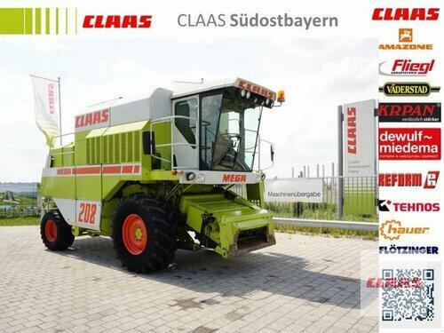 Claas MEGA 202 mit Schneidwerk C450
