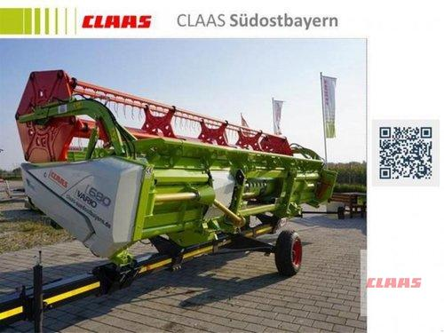 Claas Vario 680 + Transportwagen Rok výroby 2017 Töging am Inn