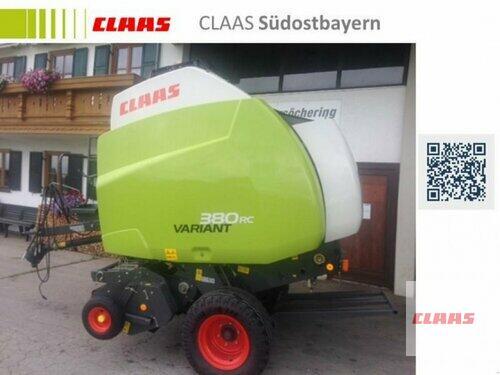 Claas Variant 380 RC Año de fabricación 2011 Töging am Inn