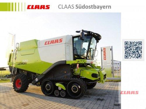 Claas LEXION 670 TT + SW V770 + TW