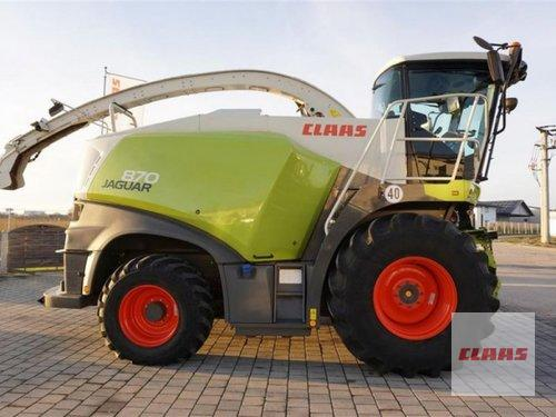 Claas Jaguar 870 Baujahr 2017 Töging am Inn