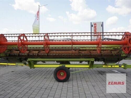 Claas Vario 660 mit Transportwage