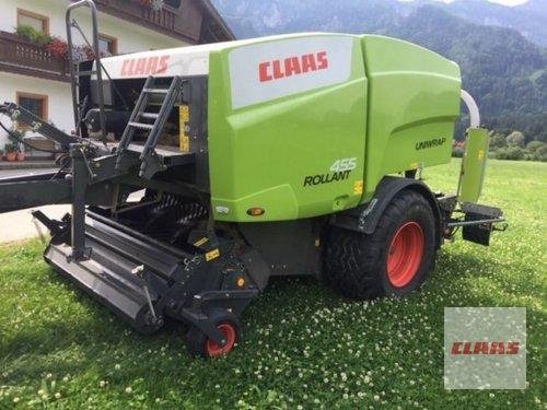 Claas Rollant 455 RC Uniwrap Byggeår 2011 Töging am Inn