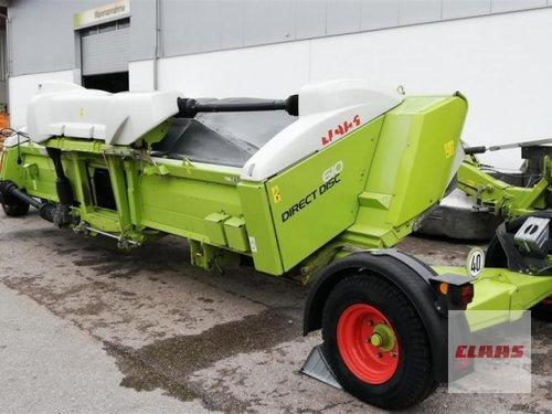 Claas Direct Disc 610 Mit Tw Year of Build 2012 Töging am Inn