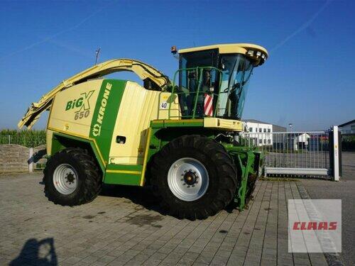 Krone Big X 650 Mit Easy Collect Und Easy Flow Reduziert Rok výroby 2007 Pohon ctyr kol