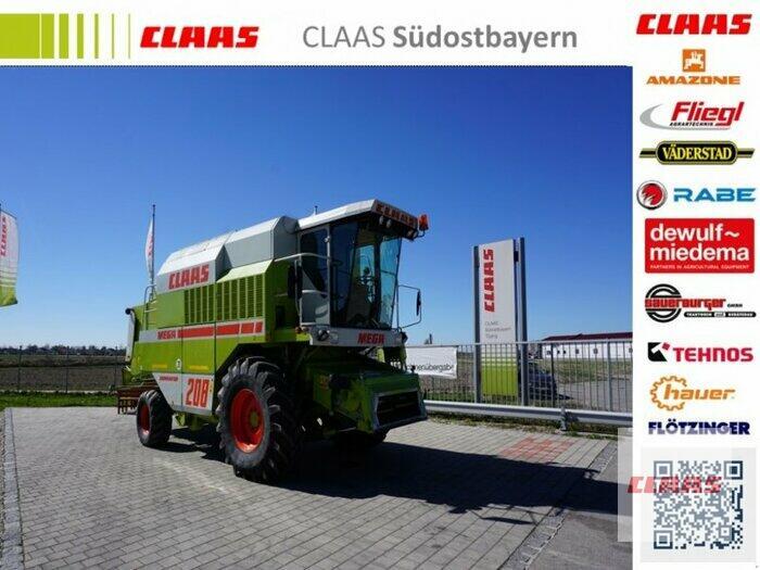 Claas DOMINATOR 208 MEGA Klimaanlage, Schneidwerk C 600, 3 D