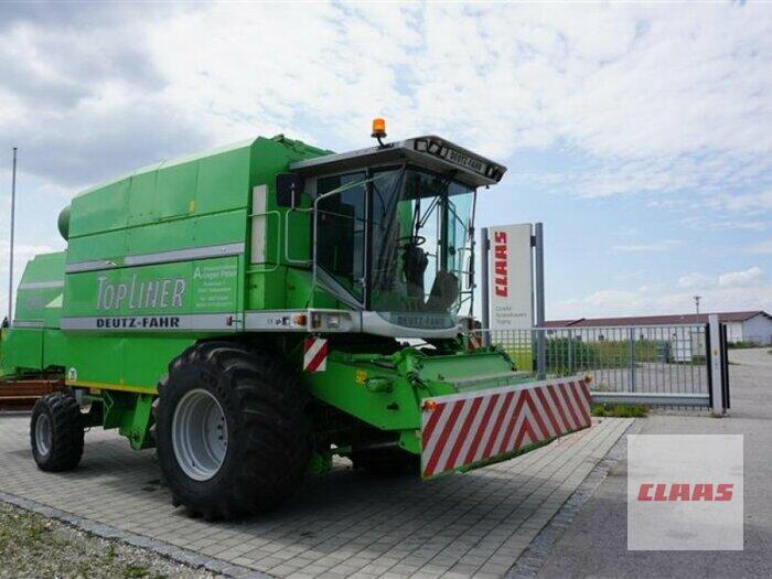 Deutz-Fahr TOPLINER 4090 HTS mit SCHNEIDWERK und TRANSPORTWAGEN