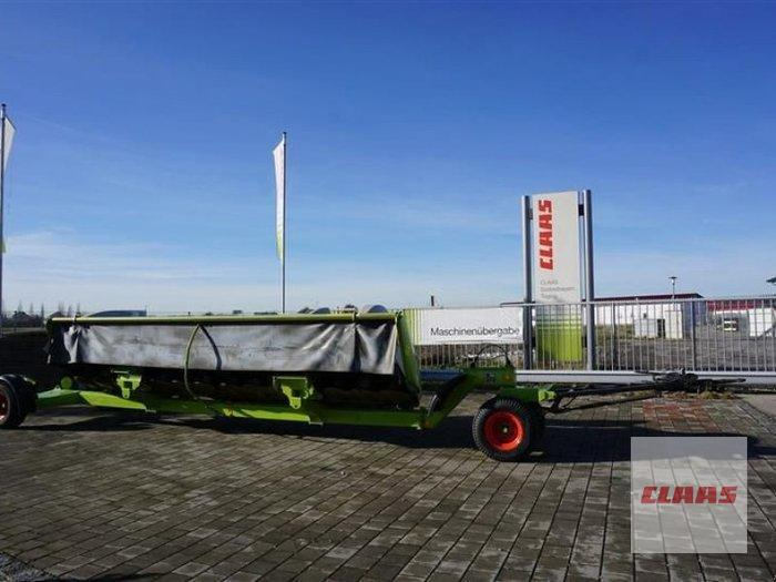 Claas DIRECT DISC 610 mit Transportwagen